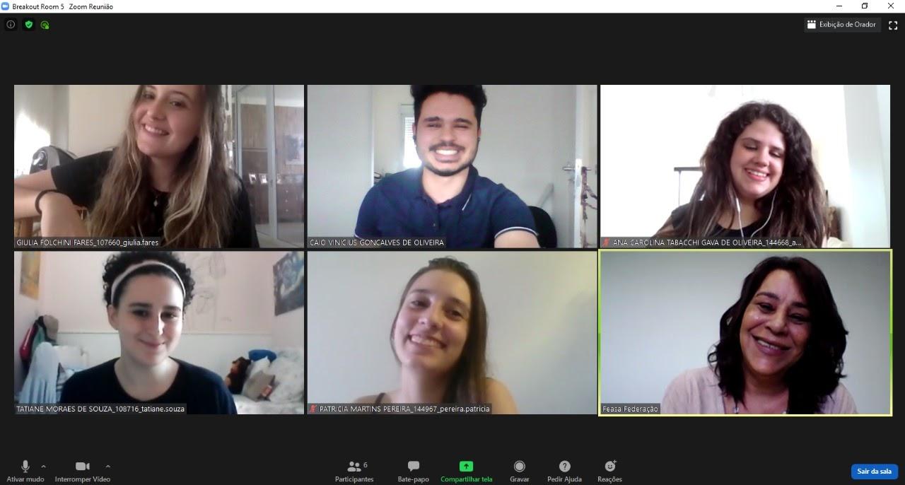 """Entrega da Consultoria do Grupo 6 para a ONG """"Feasa"""""""